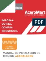 Manual de Instalacion Laminas Acanaladas