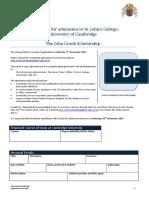 JCS Application Form 2017 - PDF