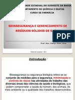 Biossegurança e PGRSS