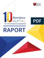 Raport Romania 10 Ani in UE Online