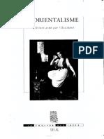L'Orientalisme – Edward W. Saïd