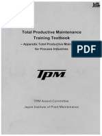 Total Productive Maintenance Training Textbook