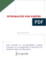 Integración Por Partes.