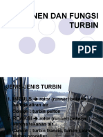 Presentasi Komponen Dan Fungsi Turbin