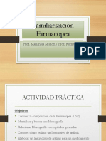 Familiarizacion Farmacopea