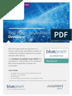 Blue Prism Accreditation - Developer