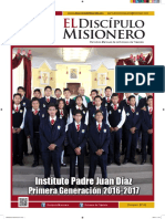 63-EL DISCÍPULO MISIONERO-AGOSTO-2017