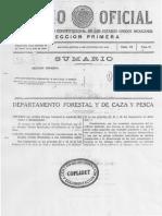 Decreto Original Parque Nacional Malinche. México