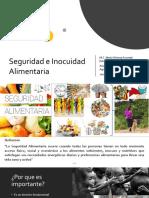 Seguridad e Inocuidad Alimentaria