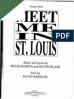 Meet Me in St. Louis Script
