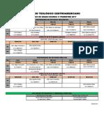 Horario IIII trimestre 17, Grado diurno Profs y Dipls.pdf