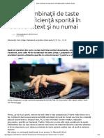 40 de combinaţii de taste pentru eficienţă sporită în editoare de text.pdf