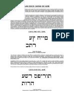 12 Capas-Nombres Hebreos