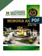 Memoria Anueal 2016