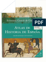 Atlas de Historia de España Garcia de Cortazar Edad Media
