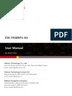 EW-7438RPn Air Manual