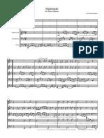 Halleluiah-QuintetScoreandparts - Partituras e partes.pdf