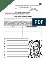 Ficha Virgen Maria