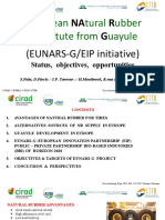 European Natural Rubber Substitute From Guayule