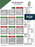 2013-2014 Final R-g Calendar
