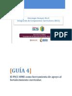Guia 4_ El PICC-HME Como Herramienta de Apoyo Al Fortalecimiento Curricular