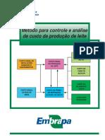 Metodo Para Controle e Analise de Custo Da Produção de Leite