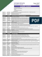 Academic Calendar FA 2017-1-1