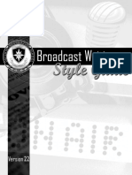 2015 dinfos broadcast writing style guide