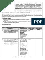 Herramienta Proyecto de aprendizaje - Crear planes de desarrollo para los empleados.rtf
