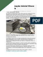 Configuração Inicial Cisco Nexus 5k