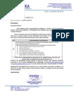 Cotizacion Levantamiento Topografico Empresa MOTA ENGIL PERU S.A