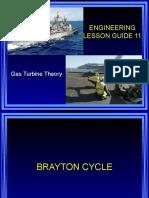 Lesson 11 Gas Turbine Theory