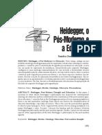 Heidegger pós moderno e a educação.pdf