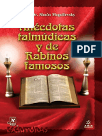 Anecdotas Talmudicas y de Rabinos