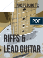 Good Guitarists Guide to Riffs and Lead Guitar