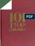 101 Talks for Children - Marianne J. Shamton