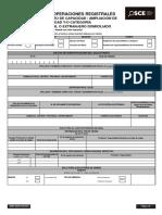 DRNP SDOR for 0007 Aumento Ampliación Categoría EyC Nac y Dom