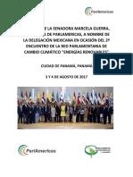 03-08-17 Informe de la senadora Marcela Guerra