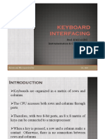 Keyboard Interfacing