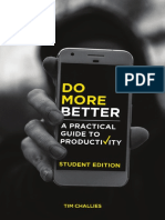 SAMPLE - Do More Better (Student Edition), by Tim Challies