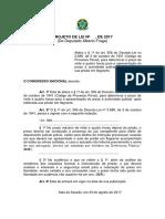 Fraga apresenta Projeto de Lei que altera Audiencia de Custodia