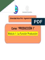 1- Funcion Produccion
