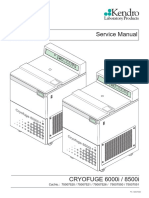 Heraeus Cryofuge 6000i,8500i - Service Manual