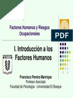 Factores Humanos y Riesgos Ocupacionales 1
