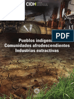 CIDH Pueblos Indígenas e Industrias Extractivas