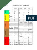math curriculum planning guide k