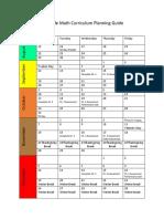 math curriculum planning guide 1