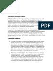 Information Security Program 2005