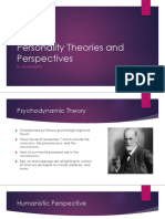 Personality Theories and Perspectives