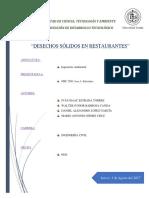 Desechos de Restaurantes (0920)